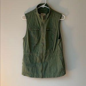 Merona green utility jacket